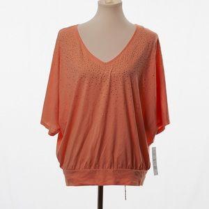 Elle Stone Studded Corla T-Shirt Large.